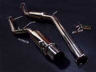 JZX100系の車両は腹の部分を擦ってマフラーが全体的に歪んでいる車両をよく見受けます。このFAM(ファム)マフラーを装着することによって、...