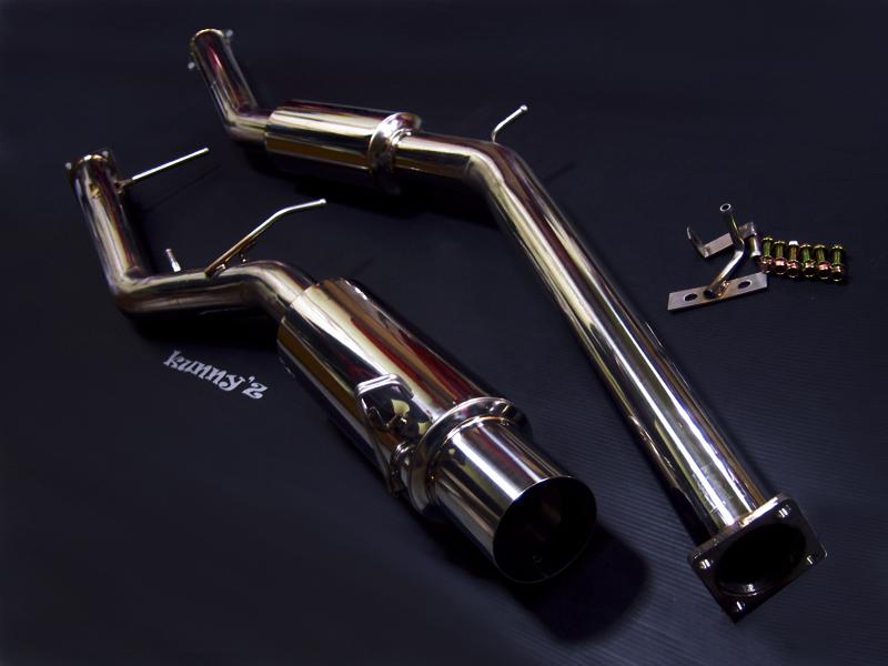 JZX100系の車両は腹の部分を擦ってマフラーが全体的に歪んでいる車両をよく見受けます。このFAM(ファム)マフラーを装着することによって、今まで段差などで擦っていた悩みを解消することが可能となりました。最 […]
